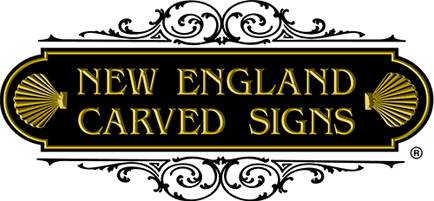 New England Carved Signs
